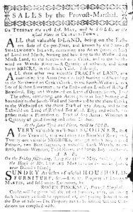 May 10 1770 - South-Carolina Gazette Slavery 8