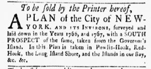 May 11 - 10:15:1770 New-York Gazette and Weekly Mercury