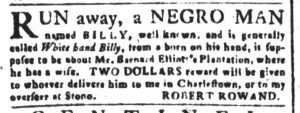 May 11 1770 - South-Carolina and American General Gazette Slavery 3