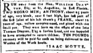 May 11 1770 - South-Carolina and American General Gazette Slavery 6