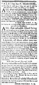 May 11 1770 - South-Carolina and American General Gazette Slavery 7