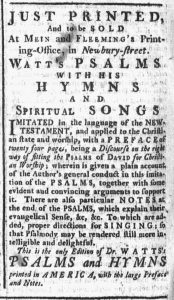 May 13 - 5:10:1770 Boston Chronicle