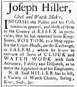 May 15 - 5:15:1770 Essex Gazette