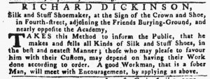 May 17 - 5:17:1770 Pennsylvania Gazette