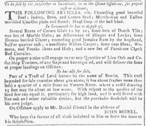 May 2 - 5:2:1770 Georgia Gazette