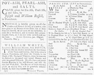 May 26 - 5:26:1770 Providence Gazette