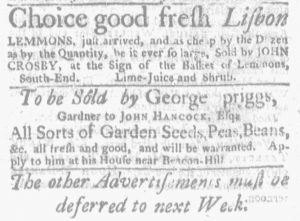 May 27 - 5:24:1770 Massachusetts Gazette and Boston Weekly News-Letter