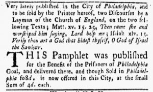 May 28 - 5:28:1770 New-York Gazette and Weekly Mercury