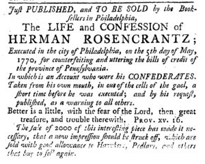 May 31 - 5:31:1770 Pennsylvania Journal