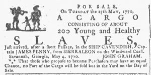May 9 - 5:9:1770 Georgia Gazette