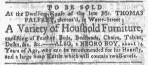 Aug 13 1770 - Boston-Gazette Slavery 3