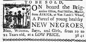 Aug 16 1770 - New-York Journal Slavery 2