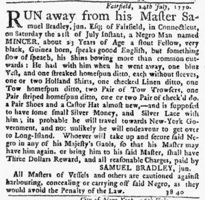 Aug 16 1770 - New-York Journal Slavery 3
