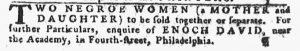 Aug 16 1770 - Pennsylvania Gazette Slavery 3