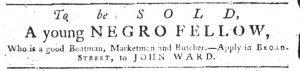 Aug 16 1770 - South-Carolina Gazette Slavery 6
