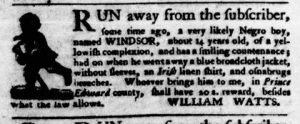 Aug 16 1770 - Virginia Gazette Purdie & Dixon Slavery 4