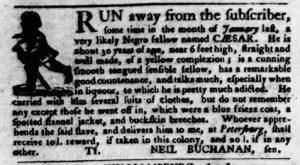 Aug 16 1770 - Virginia Gazette Purdie & Dixon Slavery 5