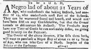 Aug 23 1770 - New-York Journal Slavery 2