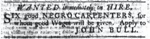 Aug 23 1770 - South-Carolina Gazette Continuation Slavery 2