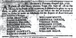 Aug 23 1770 - South-Carolina Gazette Continuation Slavery 4