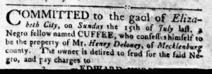 Aug 23 1770 - Virginia Gazette Rind Slavery 4