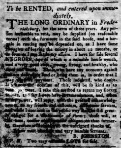 Aug 23 1770 - Virginia Gazette Rind Slavery 5