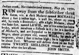 Aug 23 1770 - Virginia Gazette Rind Slavery 7