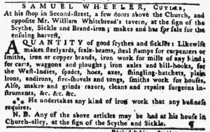 Jul 1 - 6:28:1770 Pennsylvania Gazette