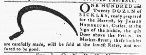 Jun 10 - 6:7:1770 Pennsylvania Gazette