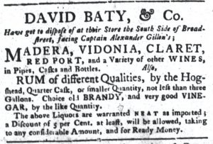 Jun 19 - 6:19:1770 South-Carolina Gazette and Country Journal Supplement