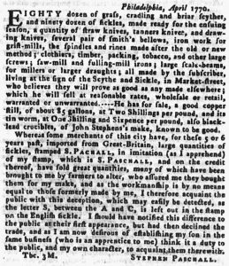 Jun 24 - 6:21:1770 Pennsylvania Gazette