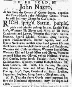 Jun 25 - 6:25:1770 Massachusetts Gazette and Boston Post-Boy