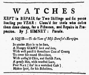 Jun 29 - 6:29:1770 New-Hampshire Gazette