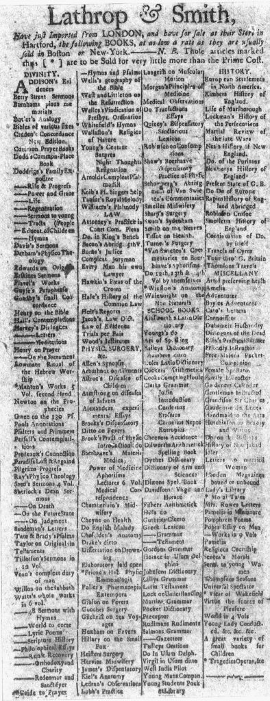 Jun 4 - 6:4:1770 Connecticut Courant