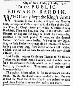 Jun 6 - 6:4:1770 New-York Gazette and Weekly Mercury
