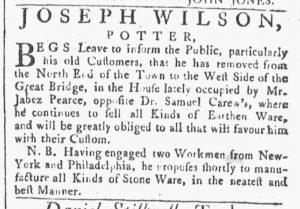Jun 9 - 6:9:1770 Providence Gazette