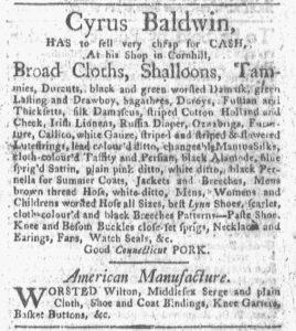 Jul 23 - 7:23:1770 Boston-Gazette