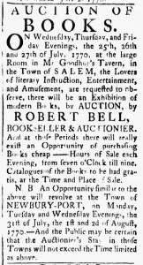 Jul 24 - 7:24:1770 Essex Gazette