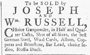 Jul 28 - 7:28:1770 Providence Gazette