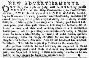 Jul 5 - Pennsylvania Gazette Slavery 3