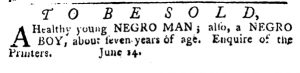 Jul 5 - Pennsylvania Journal Slavery 7