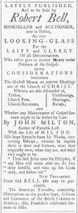Jul 7 - 7:7:1770 Providence Gazette
