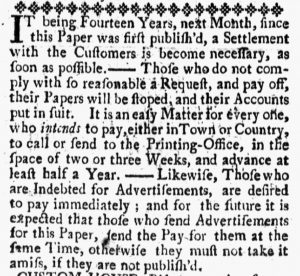 Aug 10 1770 - 8:10:1770 New-Hampshire Gazette