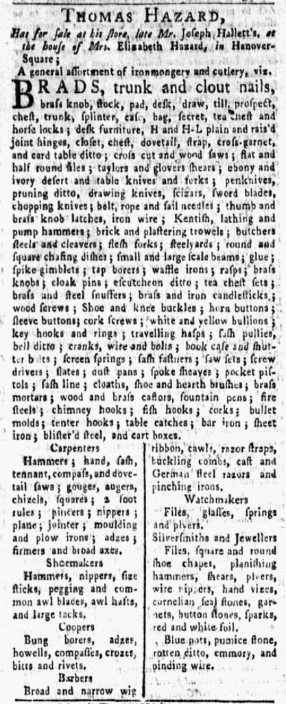 Aug 15 - 8:13:1770 New-York Gazette and Weekly Mercury