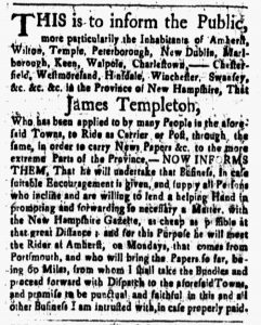 Aug 17 - 8:17:1770 New-Hampshire Gazette